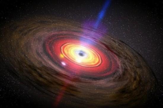 外媒预言:人类有望2018年首次看到黑洞真容