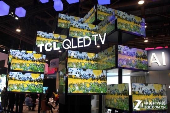 CES 2018:TCL电视让世界感到中国力量