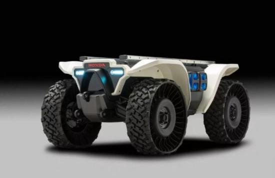 四款本田概念机器人中最可爱的要数3E-C18