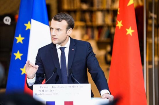 刚刚,法国总统马克龙为省广集团与HAVAS合作点赞!