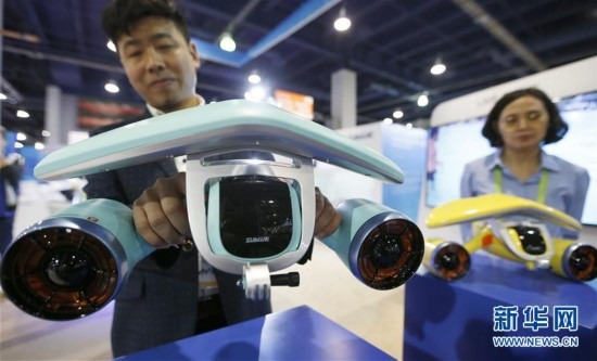 """(国际)(6)国际消费电子展上的""""中国力量"""""""