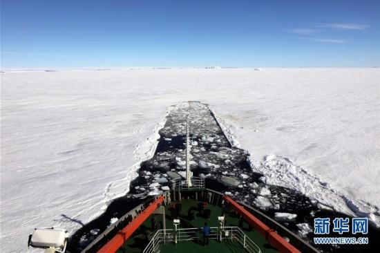"""(第34次南极科考・图文互动)(1)通讯:南极的""""寂寞生存"""""""
