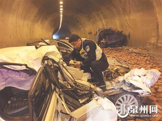 泉州辖区高速路隧道9天内3起夺命车祸 致4人死亡