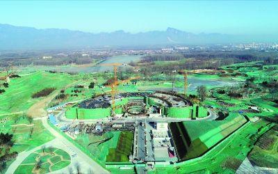 世园会中国馆实现封顶 今年10月前中国馆全部竣工