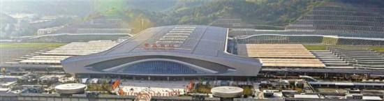 重庆西站最快本月投用 设3处进站口9个取票处