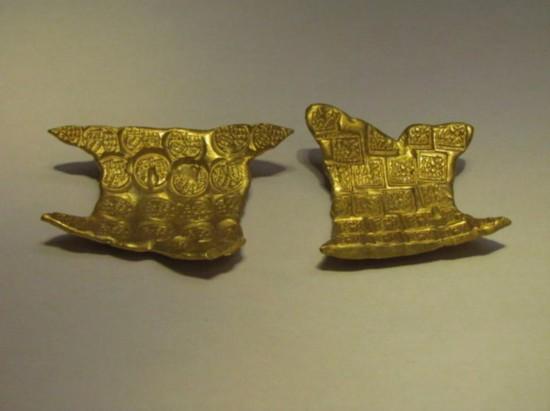 中国国家博物馆 郢褠和卢金都堪称中国最早的黄金铸币