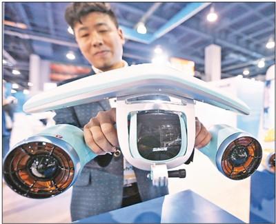中国各类新型科技产品闪耀美国消费电子展