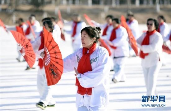 #(社会)(1)内蒙古举办冬季运动全民健身大会