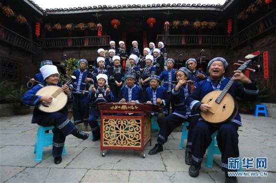 #(社会)(1)贵州惠水:传统民歌引客来