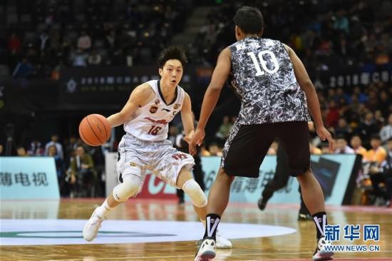 (体育)(1)篮球――CBA全明星周末:星锐队获胜
