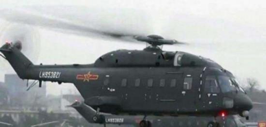 美媒称解放军装备新型直升机将用于空中突击作战冰山首席的麻辣小丫头