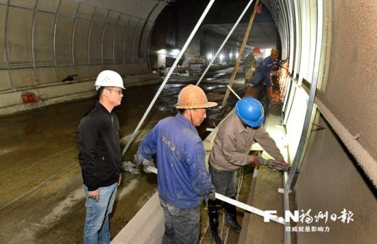 福州首条地下公路节前通车 实现与东二环快速连通
