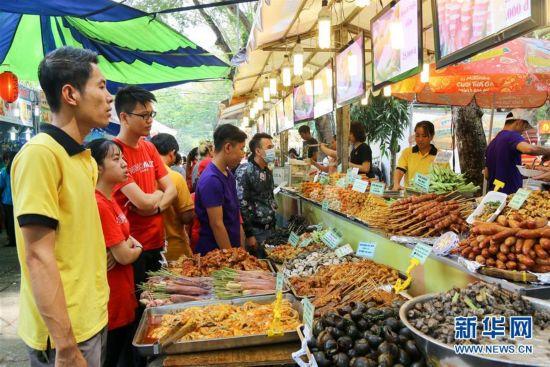 (国际)(1)越南胡志明市举办国际美食节