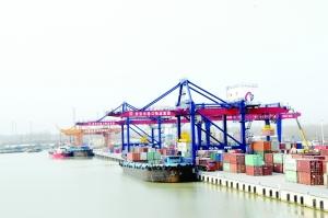 淮安港货物吞吐量超亿吨 助推中心城市跨越发展