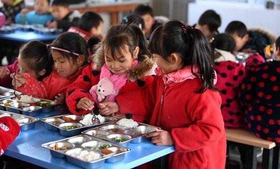 安徽:免费营养餐覆盖150多万学生