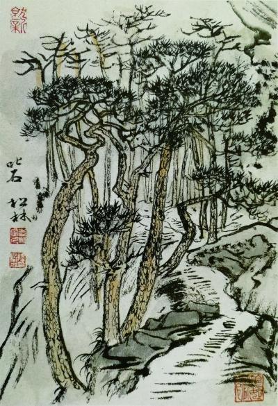 笔墨是中国画的基本语言,在中国画趋向多元的当下仍是如此