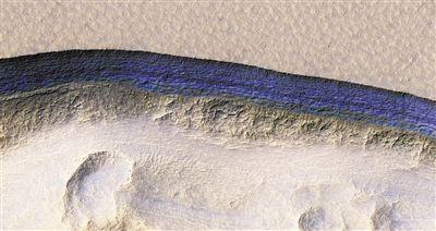 500万彩票网官网首页:NASA回答:火星地表1米以下埋藏大量可开采水冰_未来游客有望就地取用清洁水