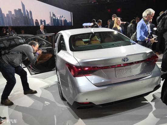 2018北美车展 丰田全新Avalon正式发布
