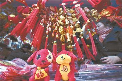 南京大街小巷年味渐浓 大红灯笼高高挂起
