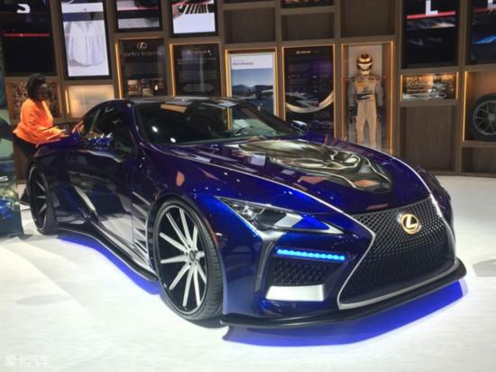 北美车展:雷克萨斯LC500h特别版亮相