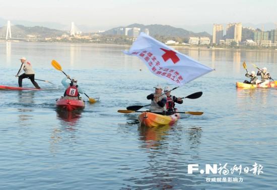福州乌龙江畔新添水上救援队 核心成员已有19名