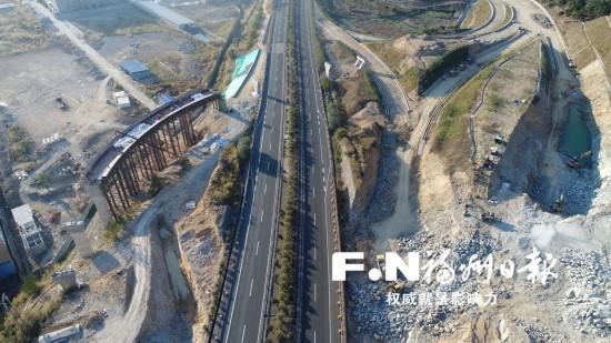 福银高速鸿尾互通春节不停工 全部工程将于2018年底建成通车