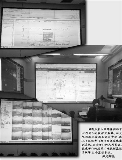 11系统+1站助唐山市精准治霾