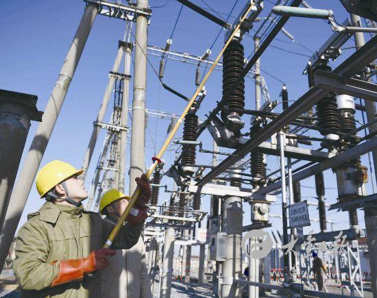 盐城大丰区供电公司消除老旧设备安全隐患