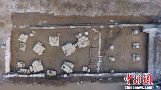 四川三台发现明清时期文庙建筑基址