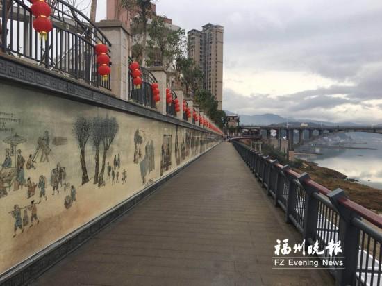 福州闽清江滨生态公园春节前正式开放