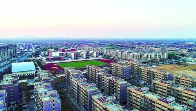 连云港柘汪新城雏形初显 多个重点工程今年交付