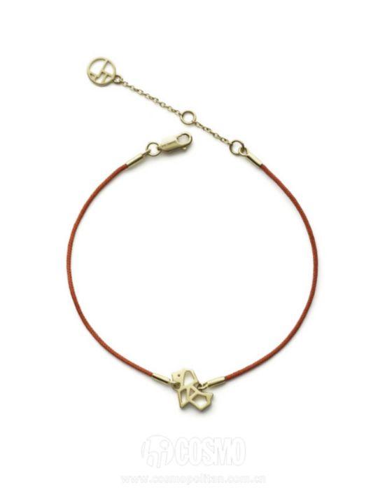 红绳子来自SHANG XIA 售价4200元