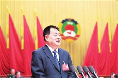 自治区政协十二届一次会议隆重开幕