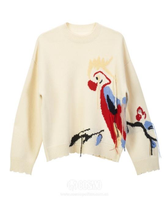 毛衣来自Edition10 售价1999元 可从官网购买