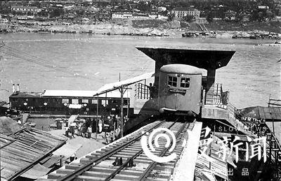 朝天门缆车今年原址复建 乘客上下游船更方便图片