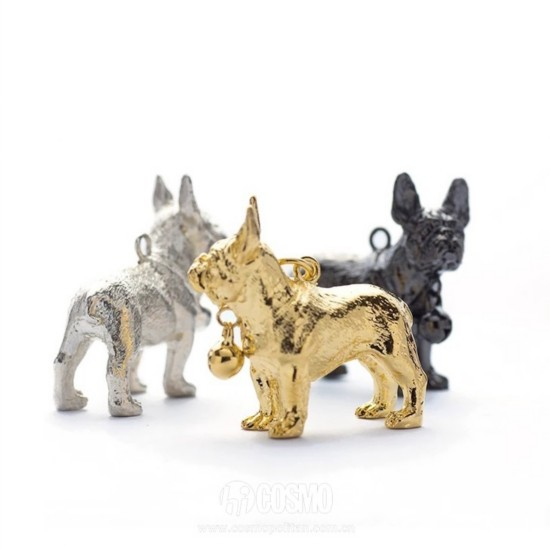坠子来自CHEN YIYUAN 黑色、金色售价580元 银色售价1488元