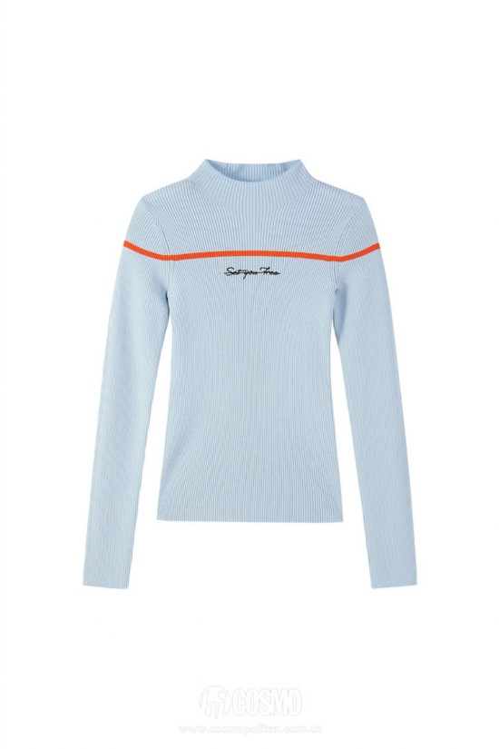 毛衣来自PEACEBIRD WOMEN 售价399元 可从官网购买