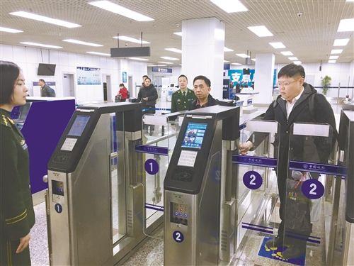 入境旅客10秒即可通关 徐州进入智能口岸时代