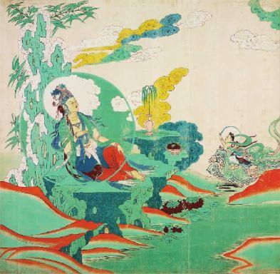老一辈艺术家结合实践将临摹敦煌的方式分为三种