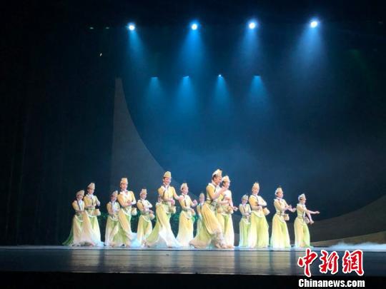 """""""内蒙古主题活动周""""演出的民族舞剧《驼道》"""