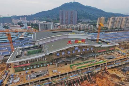 福建龙岩站完成大改造 1500名铁路人仅用8小时惊艳全球