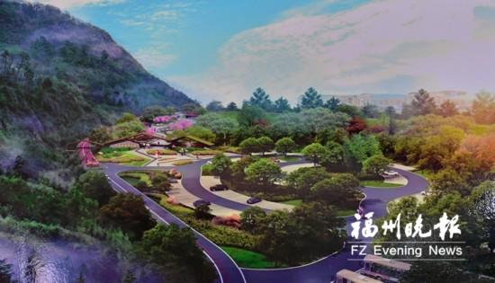 福州天马山户型绿色主打公园牌船政牌将引小生态下沉式室内设计图片