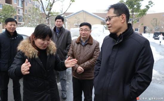 谢元:南京溧水各部门要继续抓好扫雪防冻工作