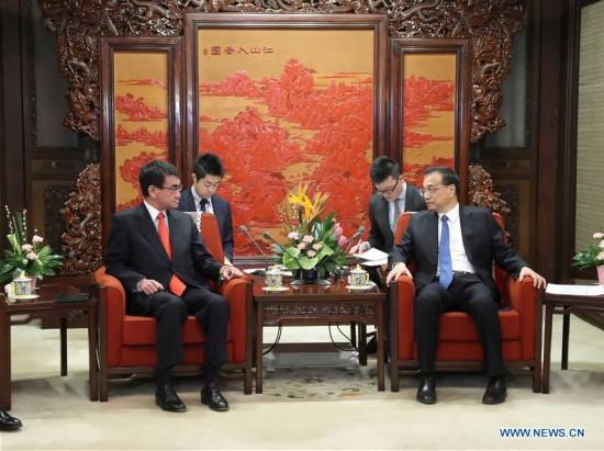 CHINA-BEIJING-LI KEQIANG-JAPANESE FM-MEETING (CN)