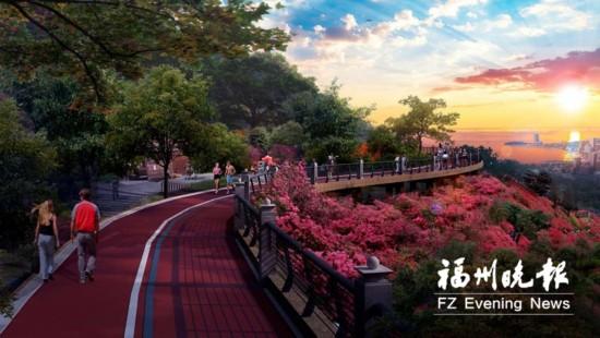 福州天马山职能公园主打绿色牌船政牌将引房地产v职能中心的生态图片