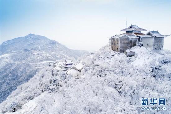 #(环境)(5)雪后初霁木兰山