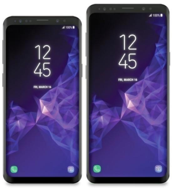 三星Galaxy S9、S9 Plus外形、壁纸完全曝光