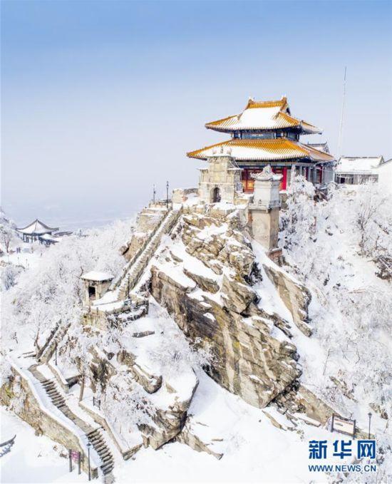#(环境)(4)雪后初霁木兰山