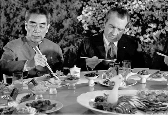 欢迎尼克松总统的神秘晚宴