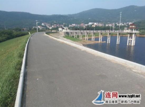 连云港朝阳水利站完成小型水库示范库维修工程